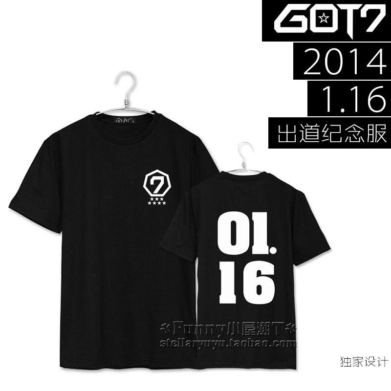 เสื้อยืด GOT7 Debut 2014 1.16 -ระบุสี/ไซต์-