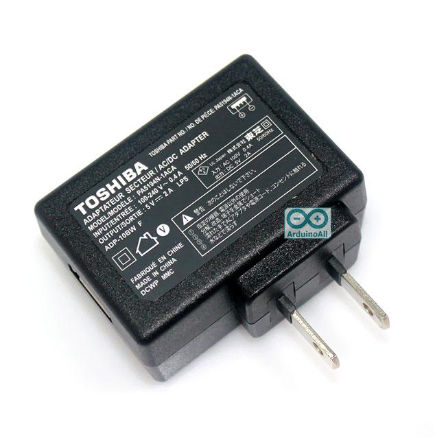 Power USB Adapter 5V 2A peak 3A แหล่งจ่ายไฟ USB 5 โวลต์จ่ายกระแส 2A สูงสุด 3A