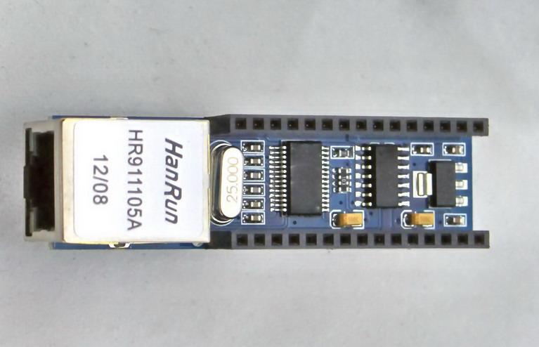ENC28J60 Ethernet Shield V1.0 for arduino compatible Nano 3.0 RJ45 Webserver Module
