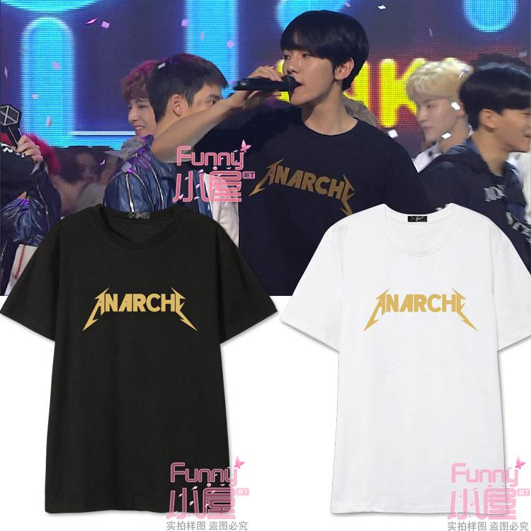 เสื้อยืด ANARCHE Sty.EX'ACT Baekhyun ระบุสี/ไซต์-