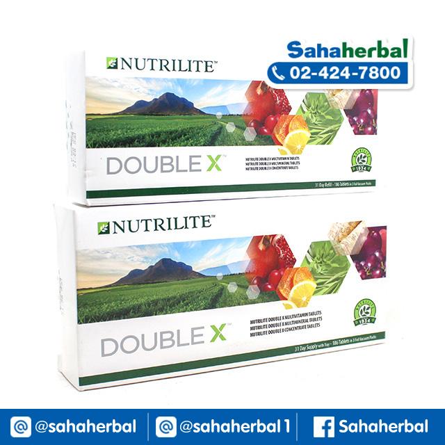นิวทรีไลท์ ดับเบิ้ลเอ็กซ์ Nutrilite Double X Amway SALE 60-80% ฟรีของแถมทุกรายการ
