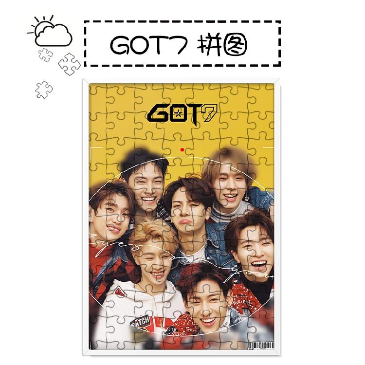 จิ๊กซอ+กรอบรูป GOT7 Eyes On You