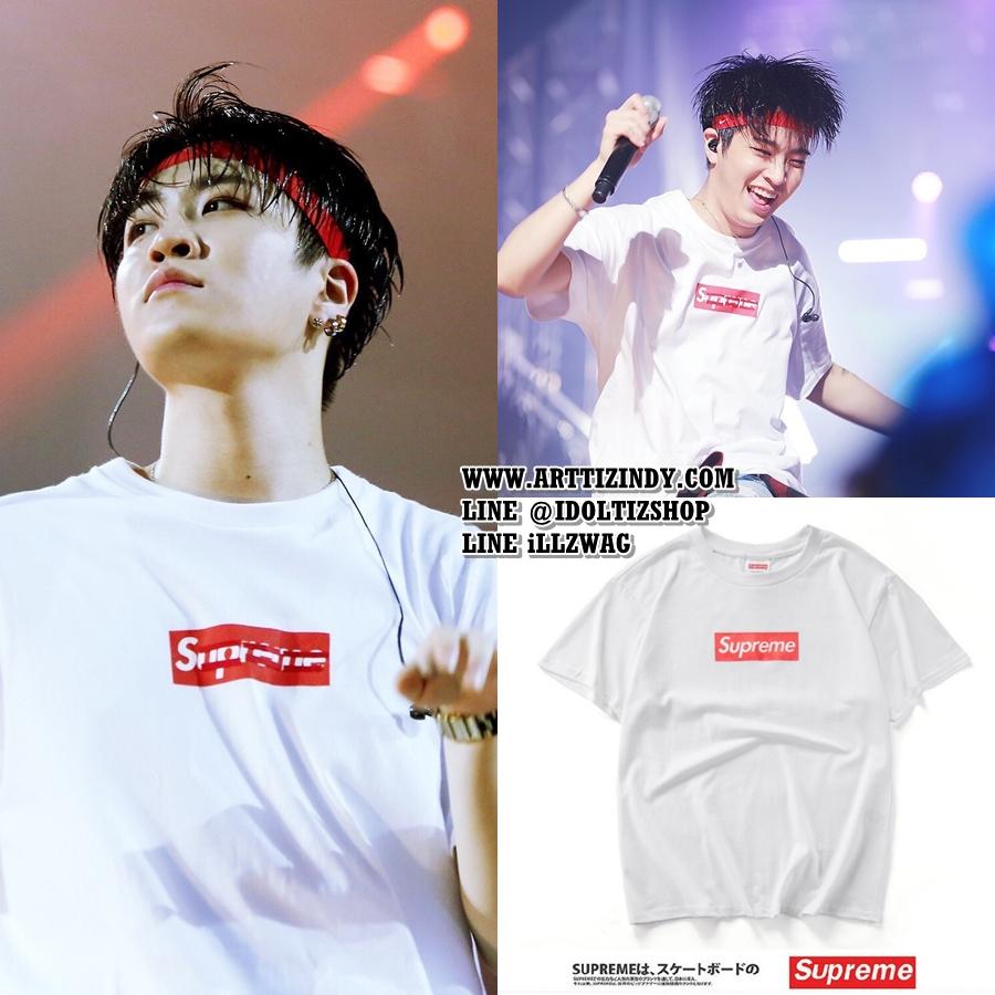 เสื้อยืด Supreme BOX RED Sty.BTS -ระบุสี/ไซต์-