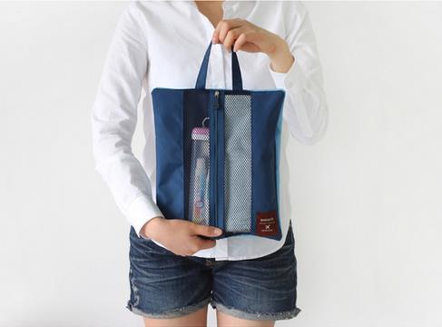 [พร้อมส่ง] กระเป๋า 2way long pouch