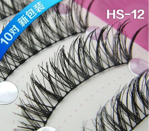 HS-12# ขนตา(ราคาส่ง) ขั้นต่ำ 15 เเพ็ค คละเเบบได้