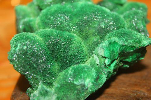 ก้อนดิบมาลาไคต์ ( Malachite )