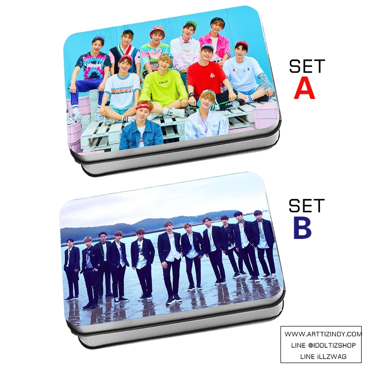 LOMO BOX SET Wanna One To Be One (40pc)