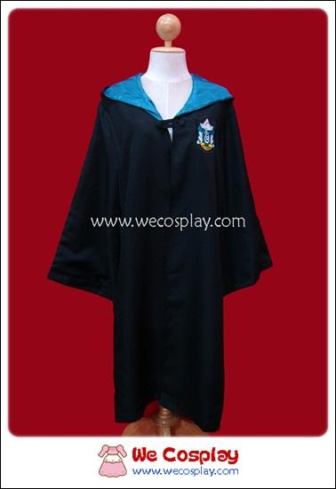 เสื้อคลุมสีเขียวของบ้านสลิธีริน แฮรี่ พ็อตเตอร์ Harry Potter Slytherin Robe