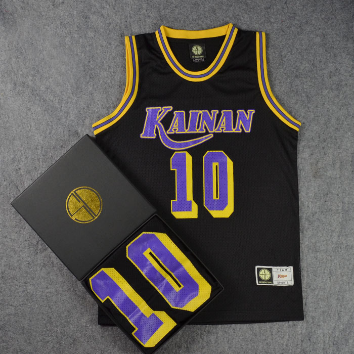 *Pre Order*SD slam dunk No.10 Kainan Kitota เสื้อกีฬา Basketball size M-2XL