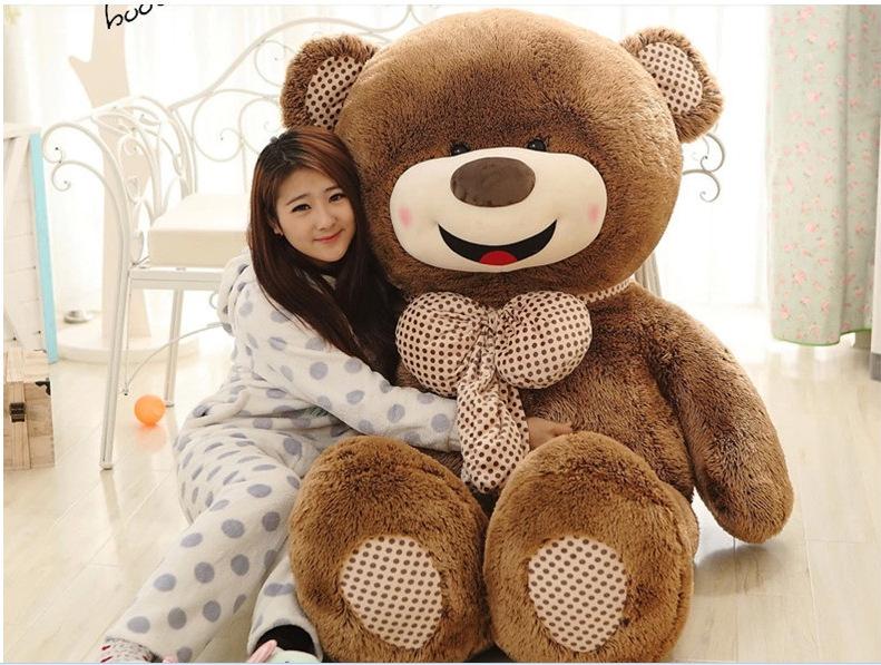 ตุ๊กตาหมีบราวน์ ยิ้ม ตัวใหญ่ม๊าก อ้วนม๊ากๆ