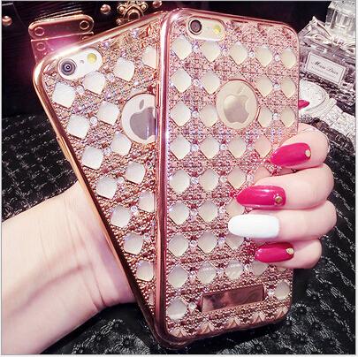เคสไอโฟน 6 Plus /6s Plus (TPU CASE) Golden
