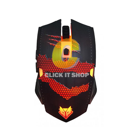 Mouse NUBWO GAMING BATTLE SERIES รุ่น NM-79+แผ่นรองเมาส์