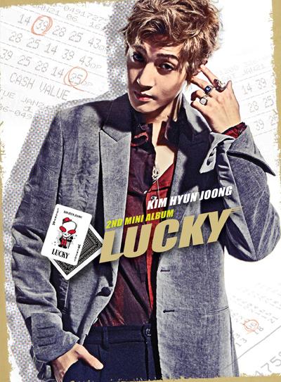 [Pre] Kim Hyun Joong : 2nd Mini Album - Lucky