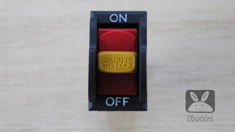 switch โยกตัวเล็ก มีเซฟตี้