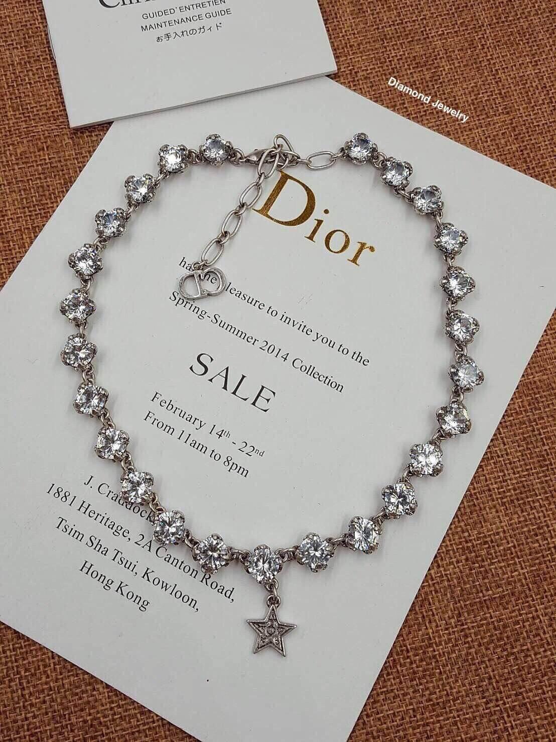 พร้อมส่ง Christian Dior Necklace สร้อยคอดิออ