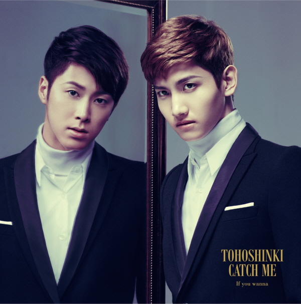[Pre] TVXQ : Jap. 36th Single - Catch Me -If you wanna- (CD+DVD Ver.)