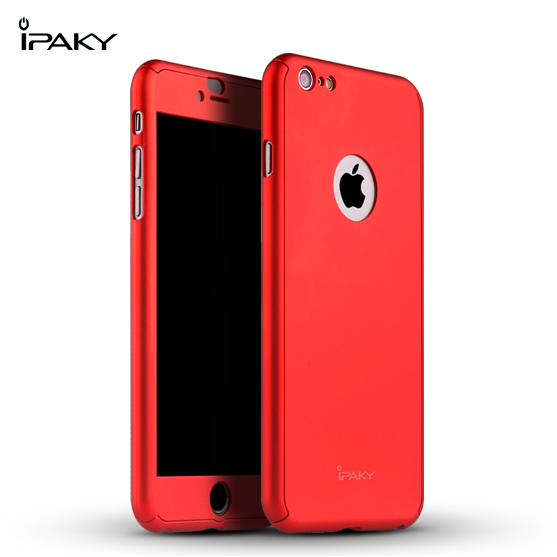 iPaky case 360 degree case iPhone 6 6Plus-Red