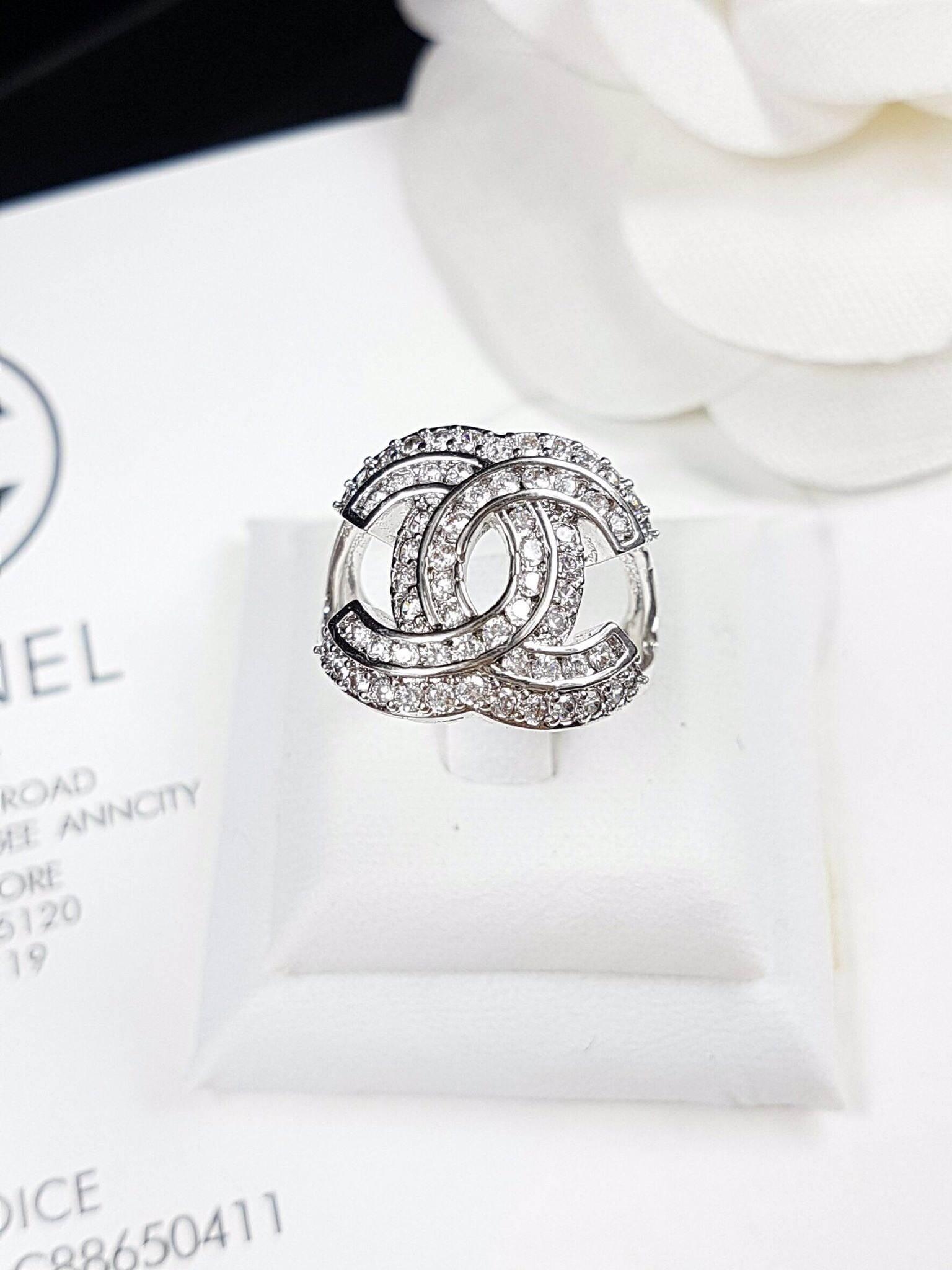 พร้อมส่ง Chanel Ring แหวนชาแนล