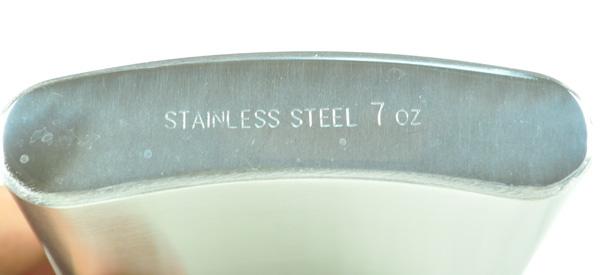 กระป๋อง ขวด ใส่เหล้า ใส่เครื่องดื่ม ทำจาก สแตนเลส Stainless Steel ขนาดเล็ก กะทัดรัด พกพา สะดวก