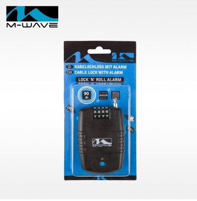 สายล็อคใส่รหัสมีสัญญาณกันขโมยในตัว MWAVE M230054