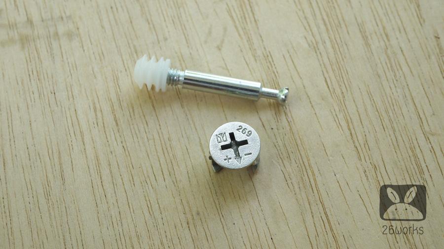 สกรูน็อคดาวน์ แบบ A 15-18 mm ถุงละ 20 ชุด