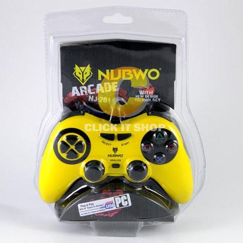 Joy Analog USB Nubwo รุ่น NJ-28 คละสี