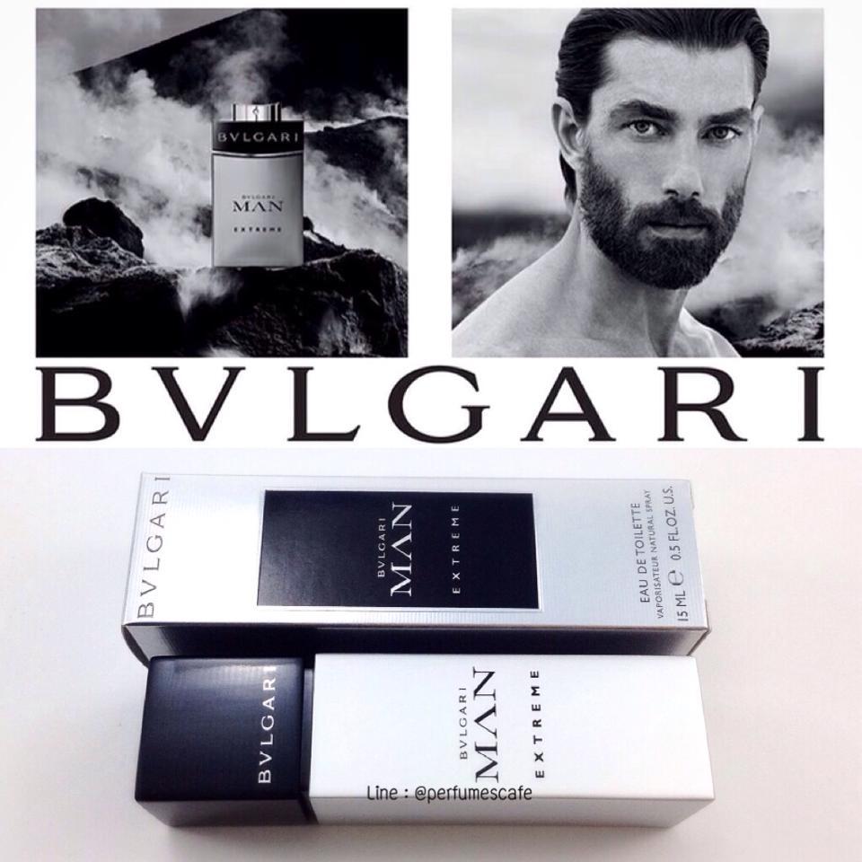 Bvlgari Man Extreme ขนาดพกพา 15 ml. (หัวสเปรย์)