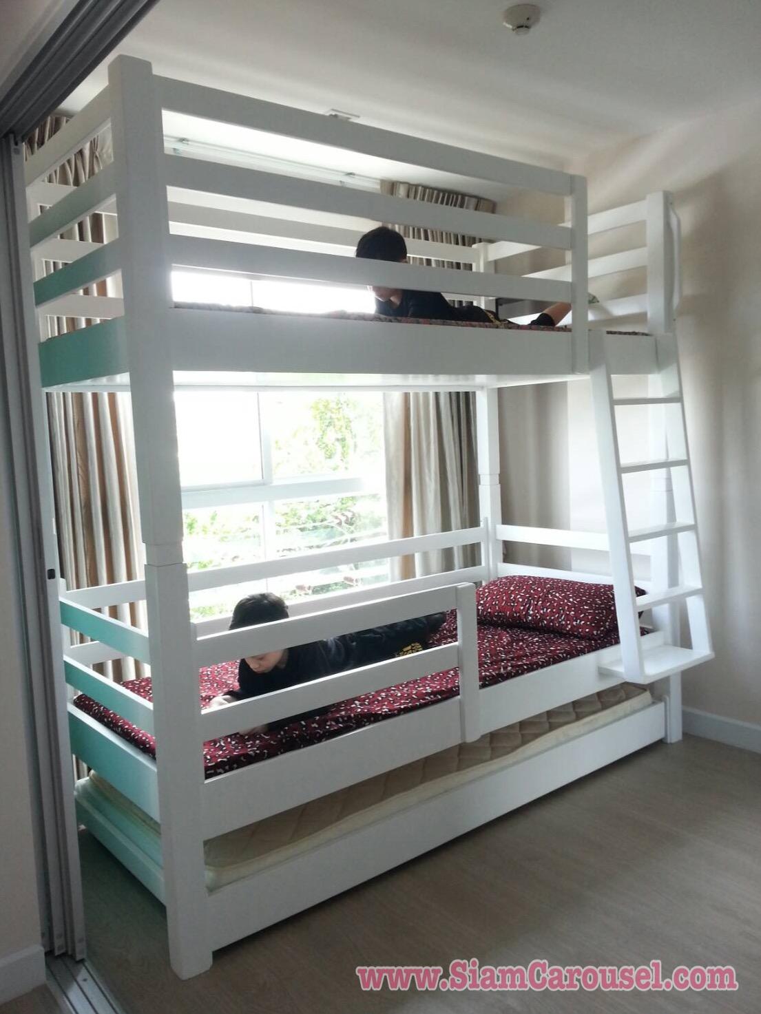 เตียง 3 ชั้น ของคุณปลา คอนโดเมโทรลักซ์ อินทมาระ14