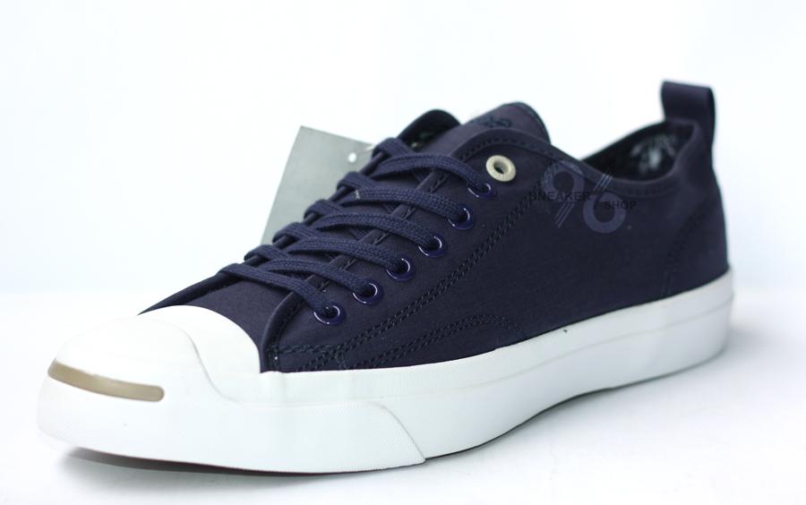 รองเท้า Converse Jack Purcell Hancock Vulcanised Article สีกรมท่า ผู้ชาย ผู้หญิง Shoes Size 40-44 พร้อมกล่อง