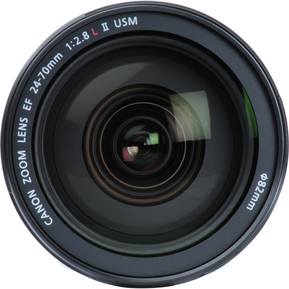 CANON EF 24-70 mm F/2.8L II USM with Lens Case LP1219 + (Lens Hood EW-88C) ประกันศูนย์