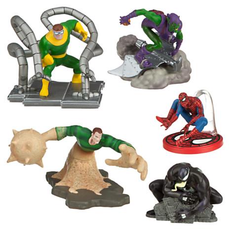 z Spider-Man Figure Play Set