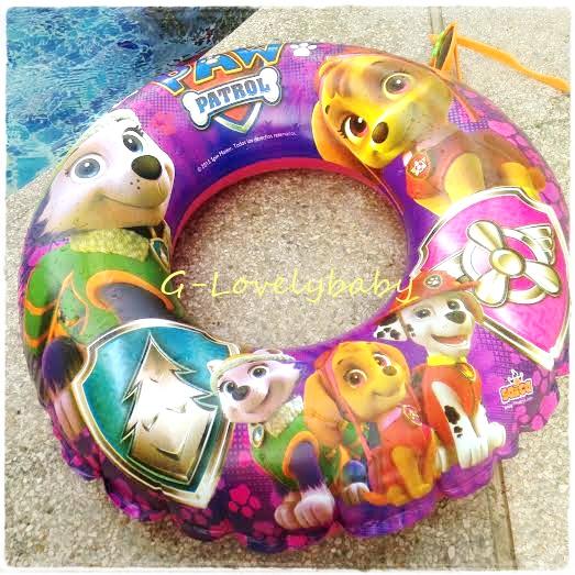 ห่วงยางว่ายน้ำ คุณภาพดี สำหรับเด็ก baby swimming ring ห่วงยางเด็ก ห่วงยางว่ายน้ำเด็ก ลายการ์ตูน PAW PATROL 50cm ขนาดเล็กสุด สำหรับอายุ 2-5 ขวบ