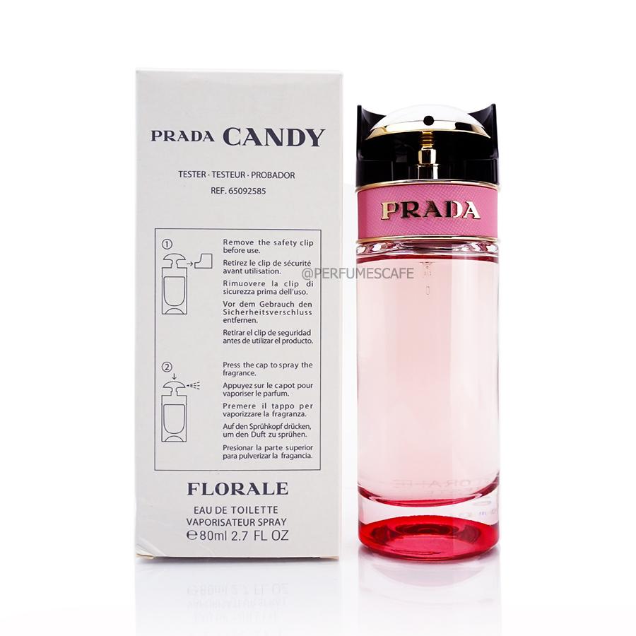 น้ำหอม Prada Candy Florale ขนาด 80ml กล่องเทสเตอร์