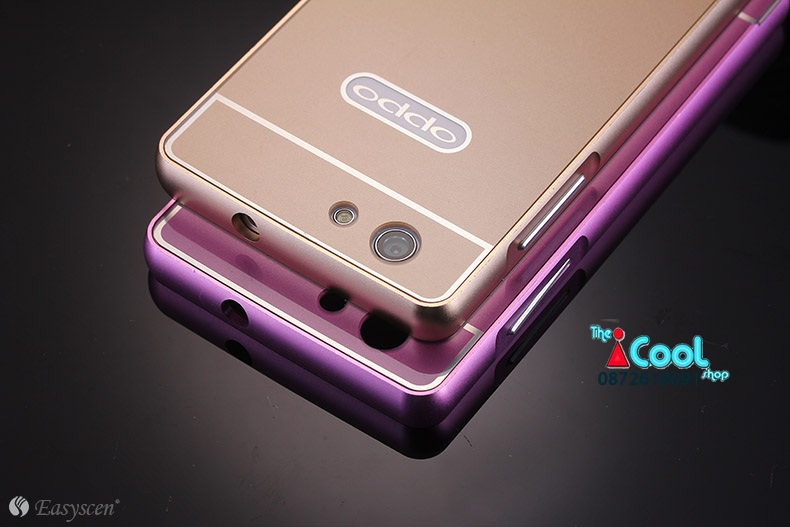 เคส OPPO Neo5s - Metalic + PC Hard Case [Pre-Order]