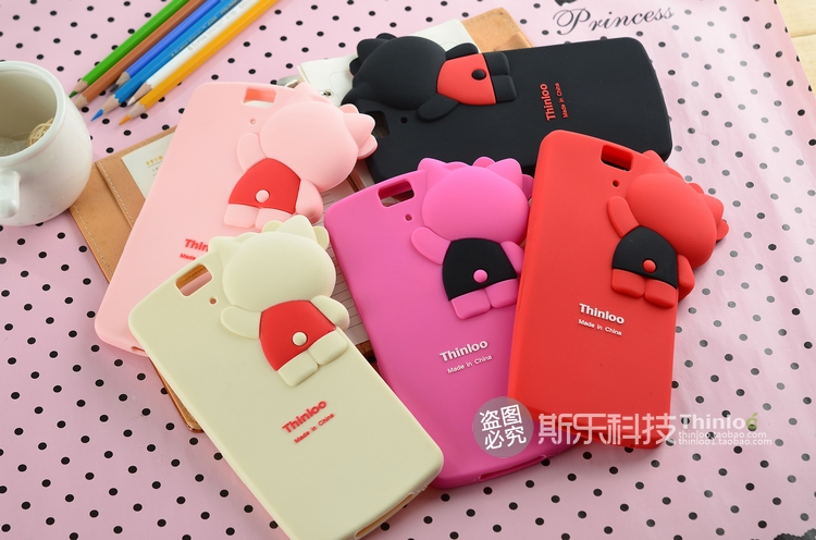 OPPO N1 - Kitty Silicone Case [Pre-Order]