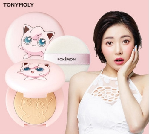 Tony Moly Pokemon : Purin Peach Pact SPF42 PA++