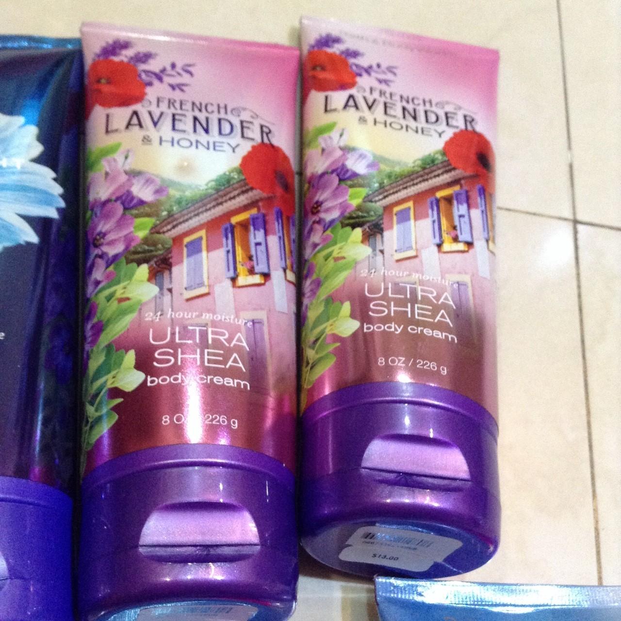 กลิ่น Frence Lavender Bath & Body Works Body Cream 226 g