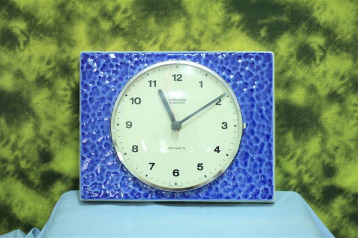 T0674 นาฬิกาแขวนไขลานเยอรมันโบราณ Junghans ส่ง EMS ฟรี