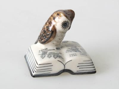 นกฮูกเซรามิค Ceramic Owl