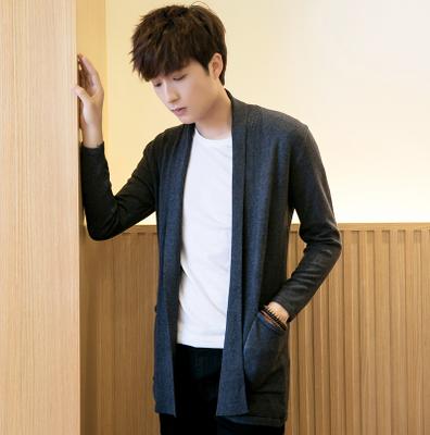 เสื้อคลุมตัวยาวเกาหลี แนวสเวตเตอร์ มี5สี