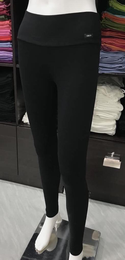 เลคกิ้ง กางเกงขายาว สีดำ