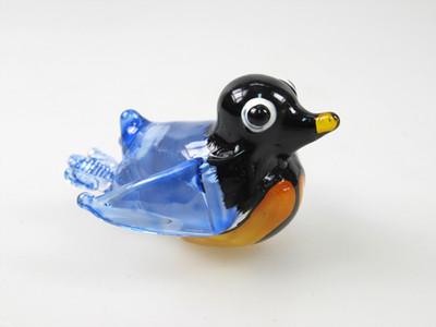 นกเพนกวิน Glass Figurine Penguin