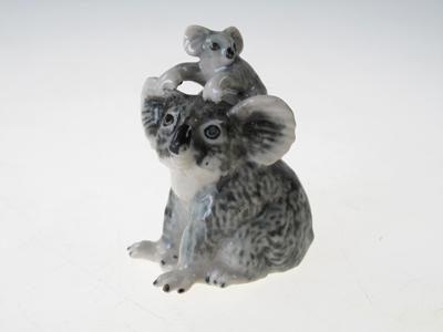 หมีโคอาล่าเซรามิคแม่ลูก Ceramic Koala