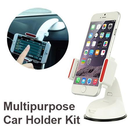 ที่ยึด Multipurpose Car Holder Kit ติดกระจก