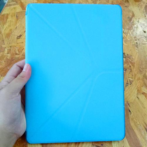 """เคสไอแพด 9.7"""" เคสฝาพับ สีฟ้า"""