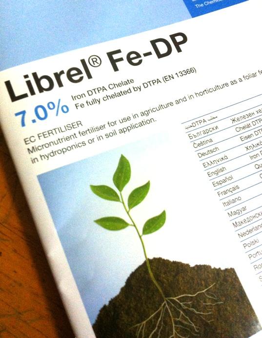 เหล็กคีเลต (Fe - DP) 1000 กรัม