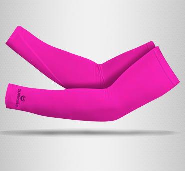 ปลอกแขนกัน UV size XXL : Orchid pink