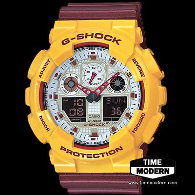 นาฬิกา Casio G-Shock Limited Models รุ่น GA-100CS-9A (McDonald)