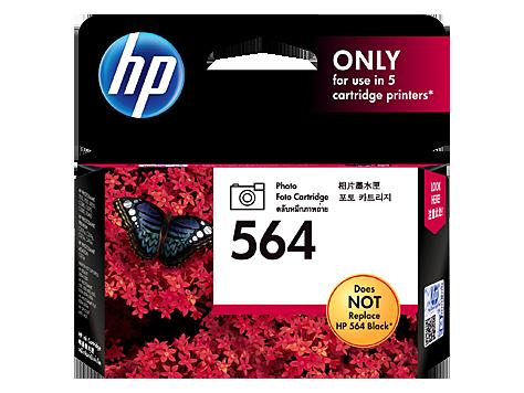 HP 564 ตลับหมึกอิงค์เจ็ท สีโฟโต้ Photo Original Ink Cartridge (CB317WA)