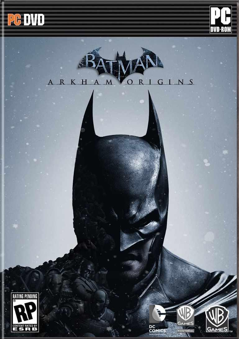 Batman Arkham Origins ( 4 DVD )